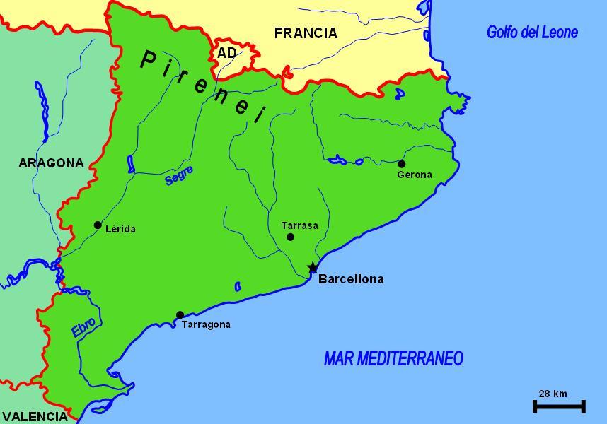 Cartina Catalogna.Catalogna Stateopedia Ch