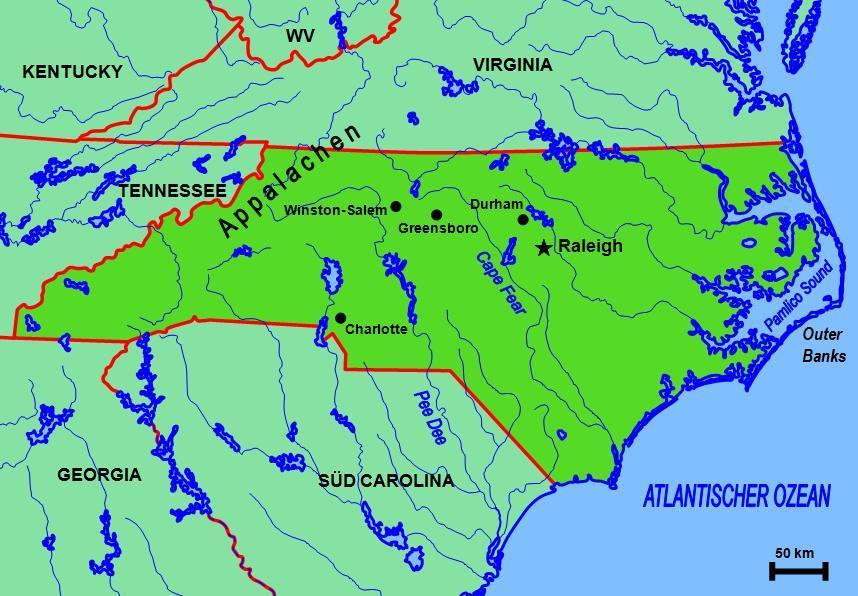 Caroline du Nord Wikipédia